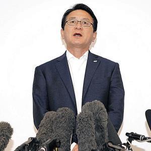 マラソン日本代表について会見する瀬古マラソン強化戦略プロジェクトリーダー