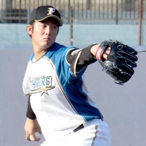 西武との2軍練習試合(鎌ケ谷)で登板した日本ハム育成3位・長谷川凌汰
