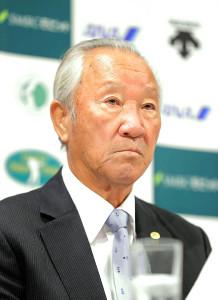 国内開幕戦の中止が決まり、コメントを発表した青木JGTO会長