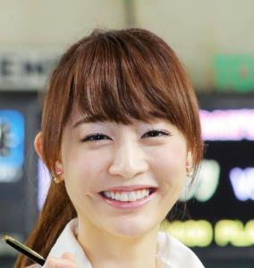 新井恵理那アナ