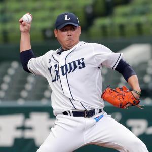 22日の練習試合に登板した松坂大輔