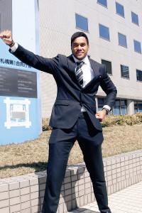 日本国籍を取得し、東京五輪代表入り、メダル獲得へ意欲を燃やすセル