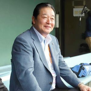 2月の中日キャンプを訪れていた梨田昌孝氏