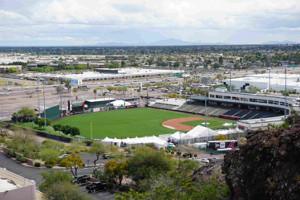 エンゼルスのキャンプ地・米アリゾナ州テンピのディアブロスタジアム