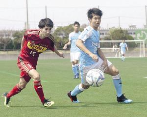 昨年はU―17日本代表のセンターバックとしても活躍した磐田U―18DF鈴木