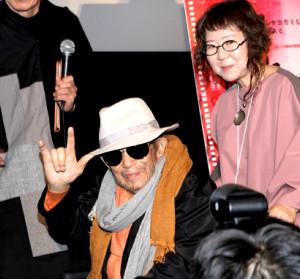 2019年11月1日、東京国際映画祭の舞台あいさつに登場した大林宣彦監督