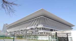 江東区辰巳の東京アクアティクスセンター