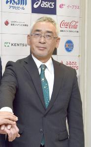 BCリーグ富山の永森茂社長