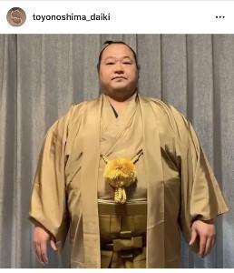 インスタグラムより@toyonoshima_daiki