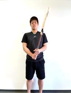 さいたま市内の寮でトレーニングに励むロッテドラフト5位・福田光輝内野手=球団提供