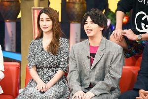 「快傑えみちゃんねる」で「MY FIRST STORY」のボーカル・Hiroが家族のプライベートを暴露(左はダレノガレ明美(C)カンテレ