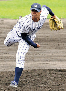仙台大・宇田川(写真は18年秋季リーグ戦)