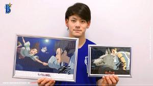 DeNA・伊藤裕は「STAYHOMEプレゼント」第1弾としてサイン入りジグソーパズルをチョイス(球団提供)