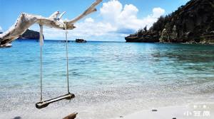 小笠原村観光局のホームページからダウンロードできる父島境浦海岸の画像