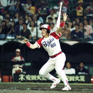92年、プロ初安打が本塁打だった近鉄・中村紀洋