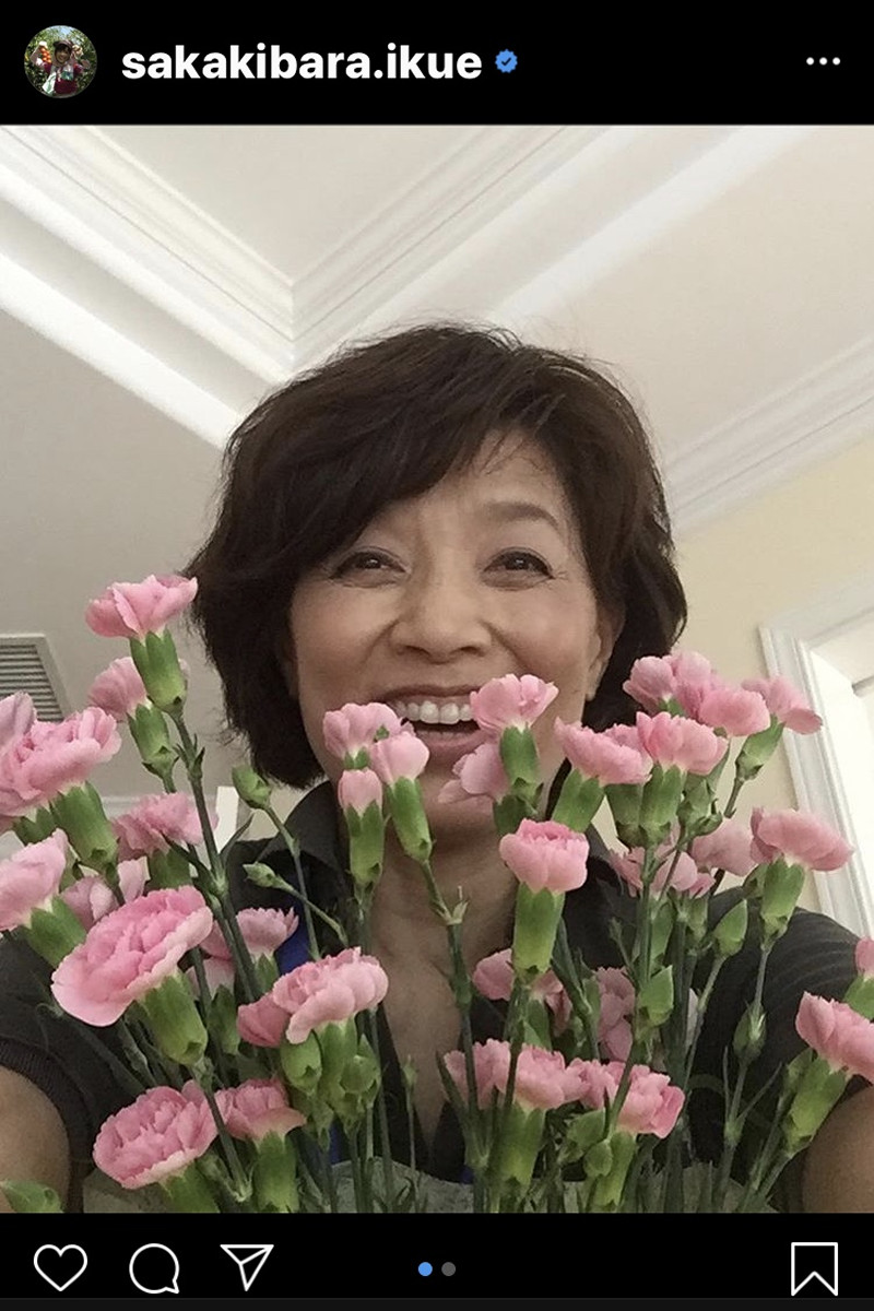榊原郁恵、「母の日」の夫・渡辺徹の行動に「初めて見た 今日 お天気が ...