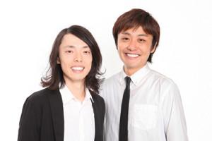 お笑いコンビ「てんしとあくま」のかんざき(左)川口敦典(右)(C)吉本興業