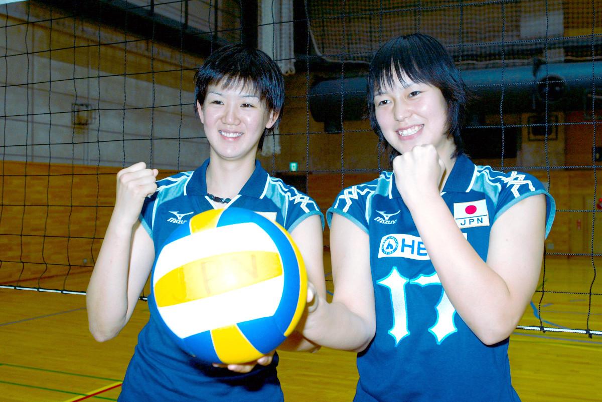 2002年5月18日】バレーボール女子でメグカナが全日本デビュー ...