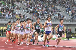 昨年6月に行われた全日本大学駅伝関東地区選考会