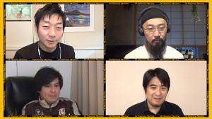 番組に登場する伊藤P(左上)、上出P(右上)、高橋P(左下)、佐久間P(右下)(C)テレビ東京