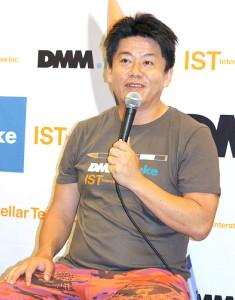 東京都知事選への出馬に意欲を見せている堀江貴文氏