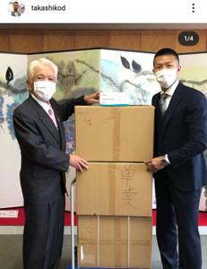 インスタグラム(@takashikod)より