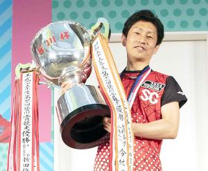 昨年覇者の吉川。クラシックに続いて、連覇がかかる