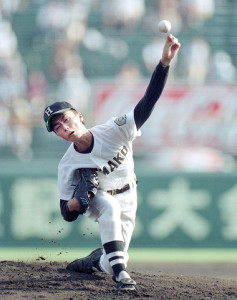 98年帝京打線を相手に2失点完投勝利の浜田・和田毅