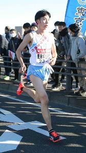 19年の箱根駅伝で関東学生連合の1区を走った近藤秀一