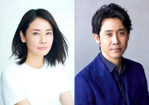 リモート制作ドラマ「2020年 五月の恋」に出演する吉田羊と大泉洋
