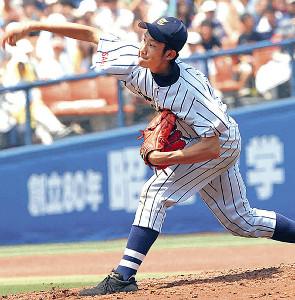 07年7月、神奈川大会準決勝の横浜戦に登板した東海大相模・菅野