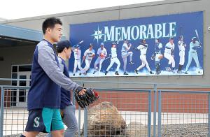 マリナーズ・菊池雄星らが春季キャンプを行う、米アリゾナ州のピオリア・スポーツ・コンプレックス(2019年撮影)