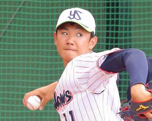 ドラフト1位右腕の奥川恭伸
