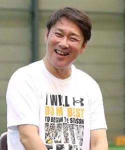 巨人・元木コーチ