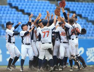 昨年の全日本選手権を制した尚美学園大ナイン