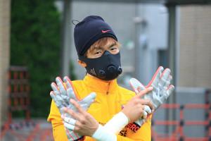 マスク着用で練習再開した浦和GK西川(提供:浦和レッズ)