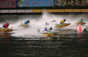 無観客で開催されている第47回ボートレースオールスター 第4日