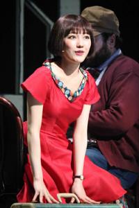 2018年5月、主演ミュージカル「アメリ」のゲネプロで抜群の歌唱力を披露した渡辺麻友
