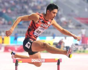 昨年、ドーハ世界陸上に出場した安部孝駿