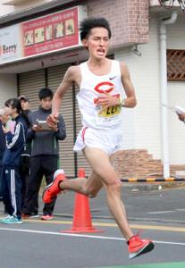 18年大会で大学生男子日本人トップだった中山顕