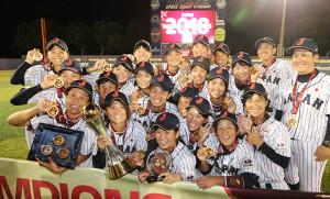 18年の第8回女子野球W杯で6連覇を達成した侍ジャパン女子代表「マドンナジャパン」