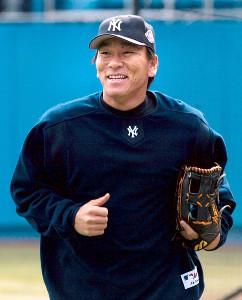 ヤンキース時代の松井