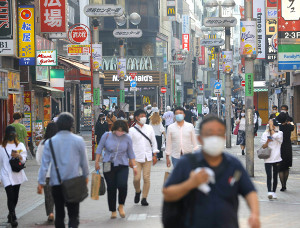 人通りが戻ってきた渋谷・センター街