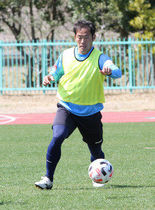 3季連続の主将に就任したJ3富山・今瀬淳也