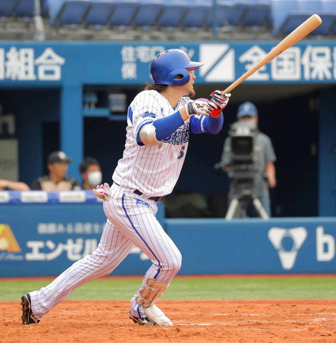 【DeNA】途中出場の倉本寿彦が適時二塁打で開幕1軍へアピール「引き続きチャンスをものにできるように」
