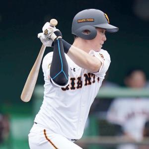 1回無死一塁、加藤脩が右前安打