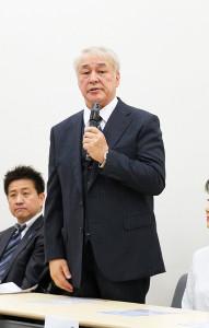 2月の記者会見で横田滋さんとの思い出を語った原田大二郎
