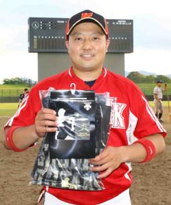MVPの「大谷賞」をゲットした水沢駒形野球倶楽部・横倉は09年に菊池と夏の4強入りを経験した