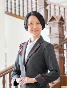 宝塚ホテルの支配人に就任した憧花ゆりのさん
