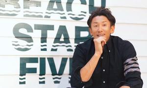 ビーチバレー男子・西村晃一は48歳での五輪出場を目指している